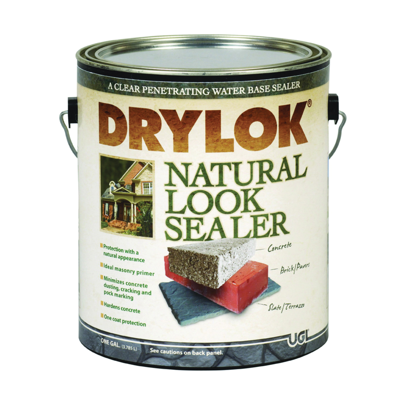 Picture of UGL DRYLOK 22113 Natural Look Sealer, Clear, Liquid, 1 gal Package, Pail