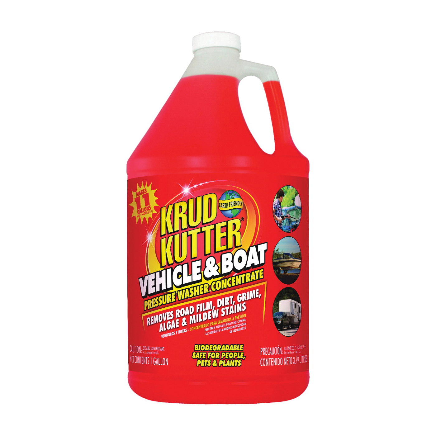 Picture of KRUD KUTTER VB014 Vehicle and Boat Cleaner, Liquid, Mild, 1 gal Package, Bottle