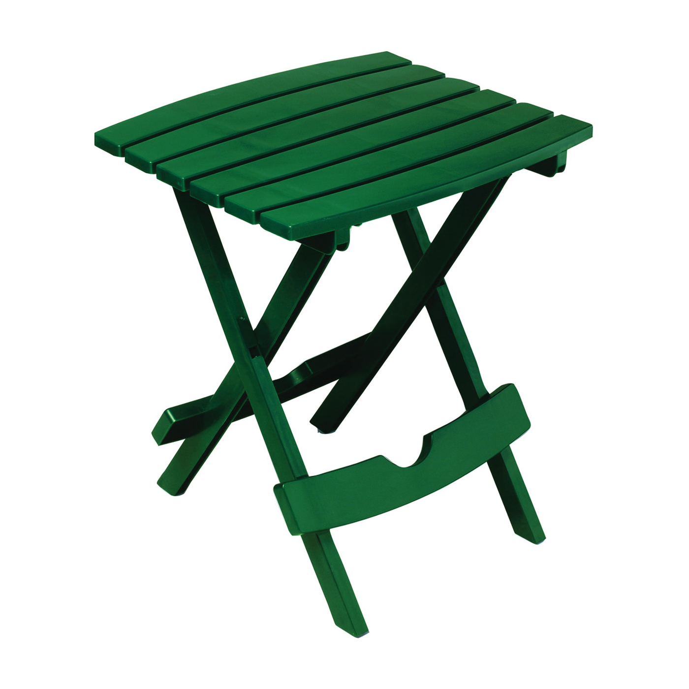 Picture of Adams Quik-Fold 8510-16-3734 Side Table, 15-1/4 in W, 17-3/8 in D, 19-3/4 in H, Resin Frame, Rectangular Table