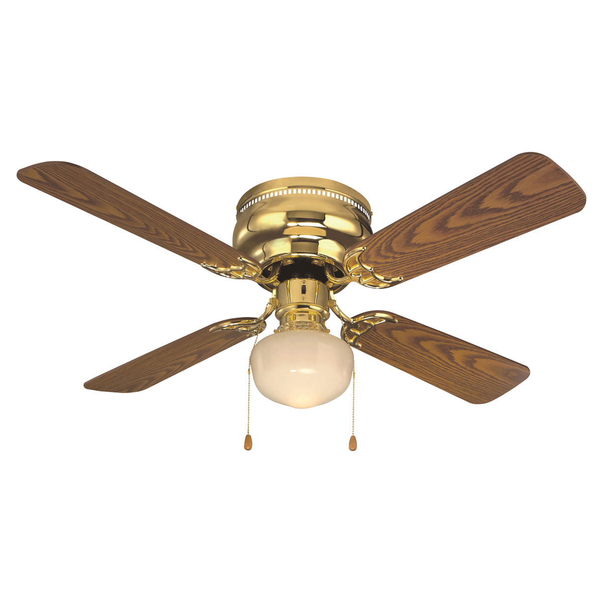 Picture of Boston Harbor CF-78125 Ceiling Fan, 4-Blade, 42 in Sweep