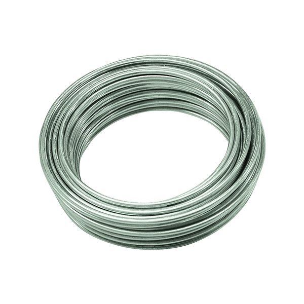 Picture of HILLMAN 50130 Utility Wire, 25 ft L, 16 Gauge, Galvanized Steel