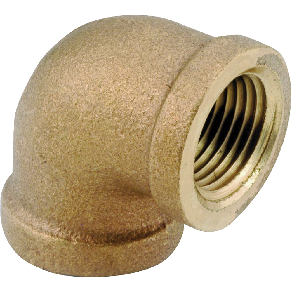 Picture of Anderson Metals 738100-04 Pipe Elbow, 1/4 in, FIP