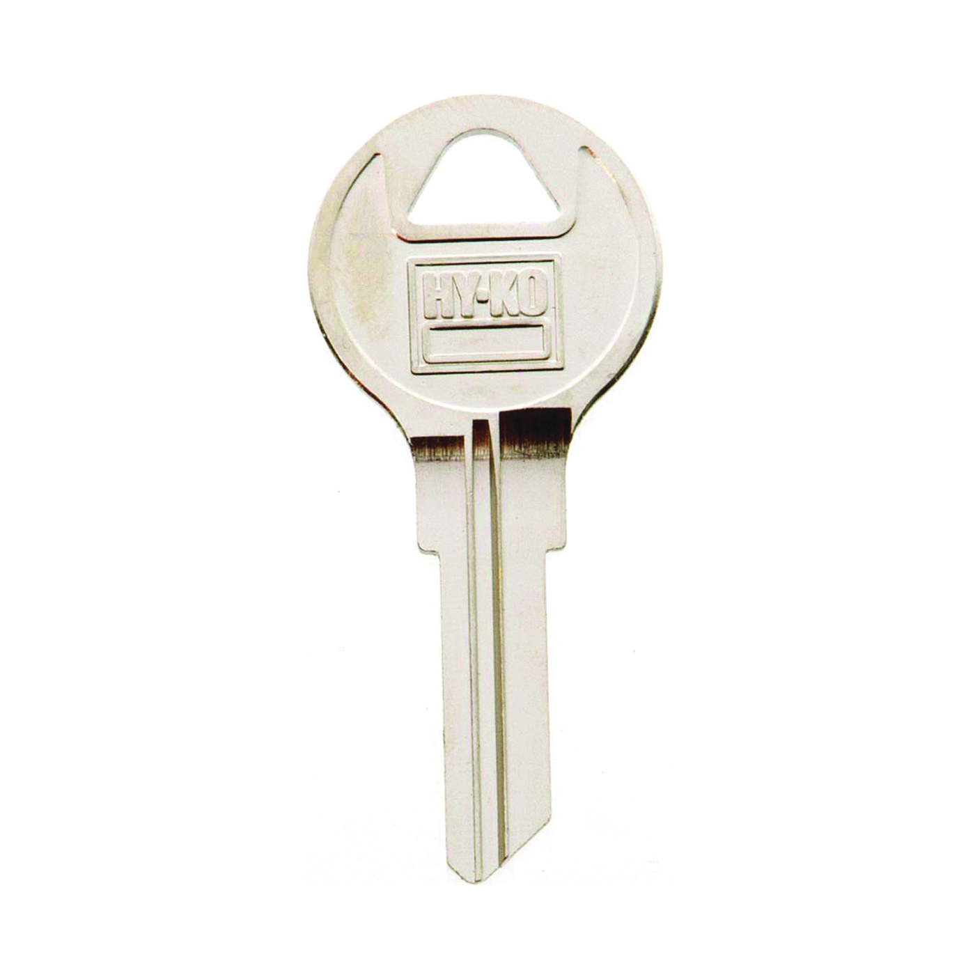 Picture of HY-KO 11010AP5 Key Blank, Brass, Nickel, For: Chicago Cabinet, House Locks and Padlocks