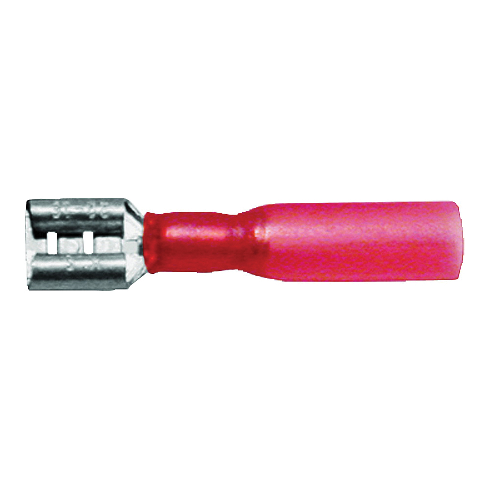 Picture of CALTERM 65741 Connector, 22 to 18 AWG Wire, Copper Contact, Red