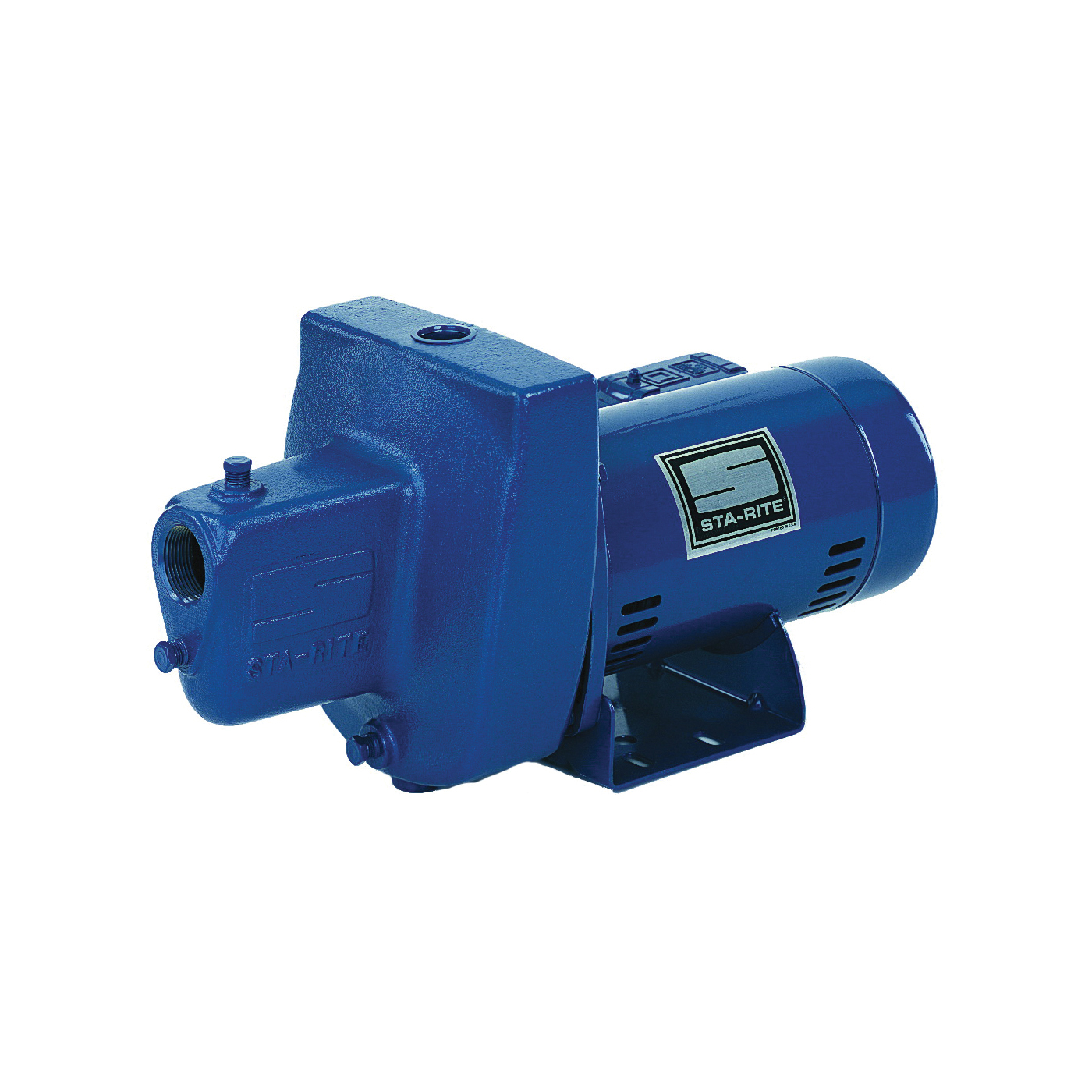 Picture of Sta-Rite FSNDH Jet Pump, 12.2/6.1 A, 115/230 V, 0.75 hp, 1-1/4 in Suction, 1 in Discharge Connection, Iron