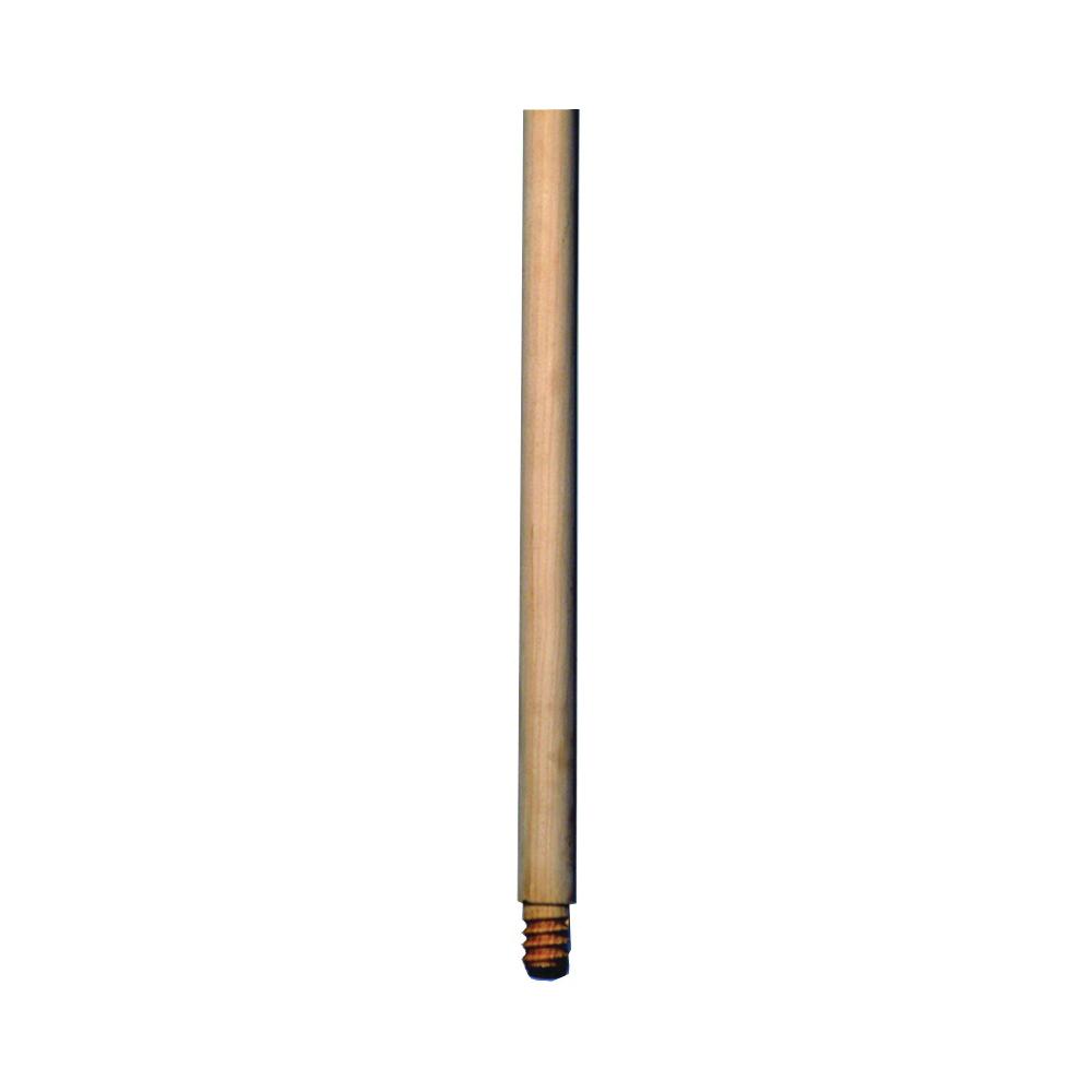 Picture of SUPREME ENTERPRISE LA165S Broom Handle, 15/16 in Dia, 54 in L, Threaded, Wood