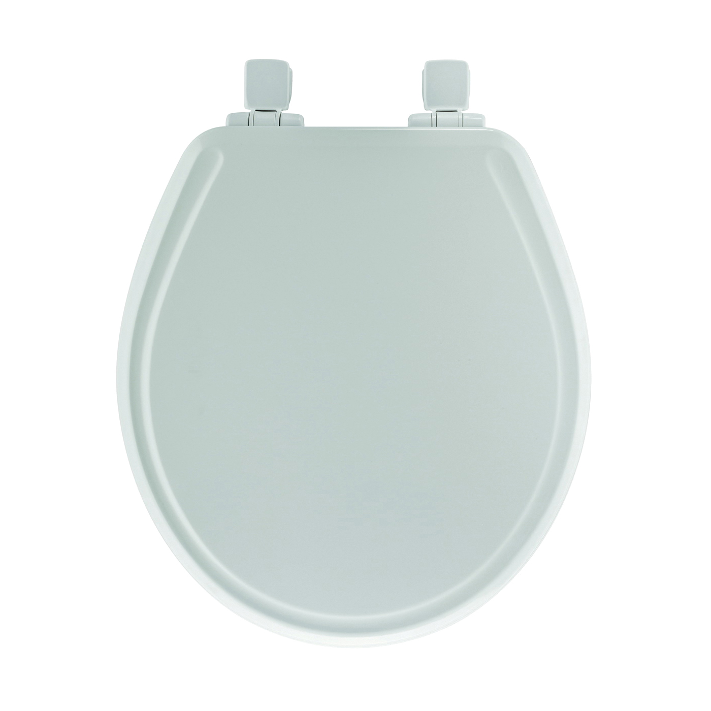 Picture of Mayfair 148SLOWA-000/148E Toilet Seat, Elongated, Molded Wood, White, Twist Hinge