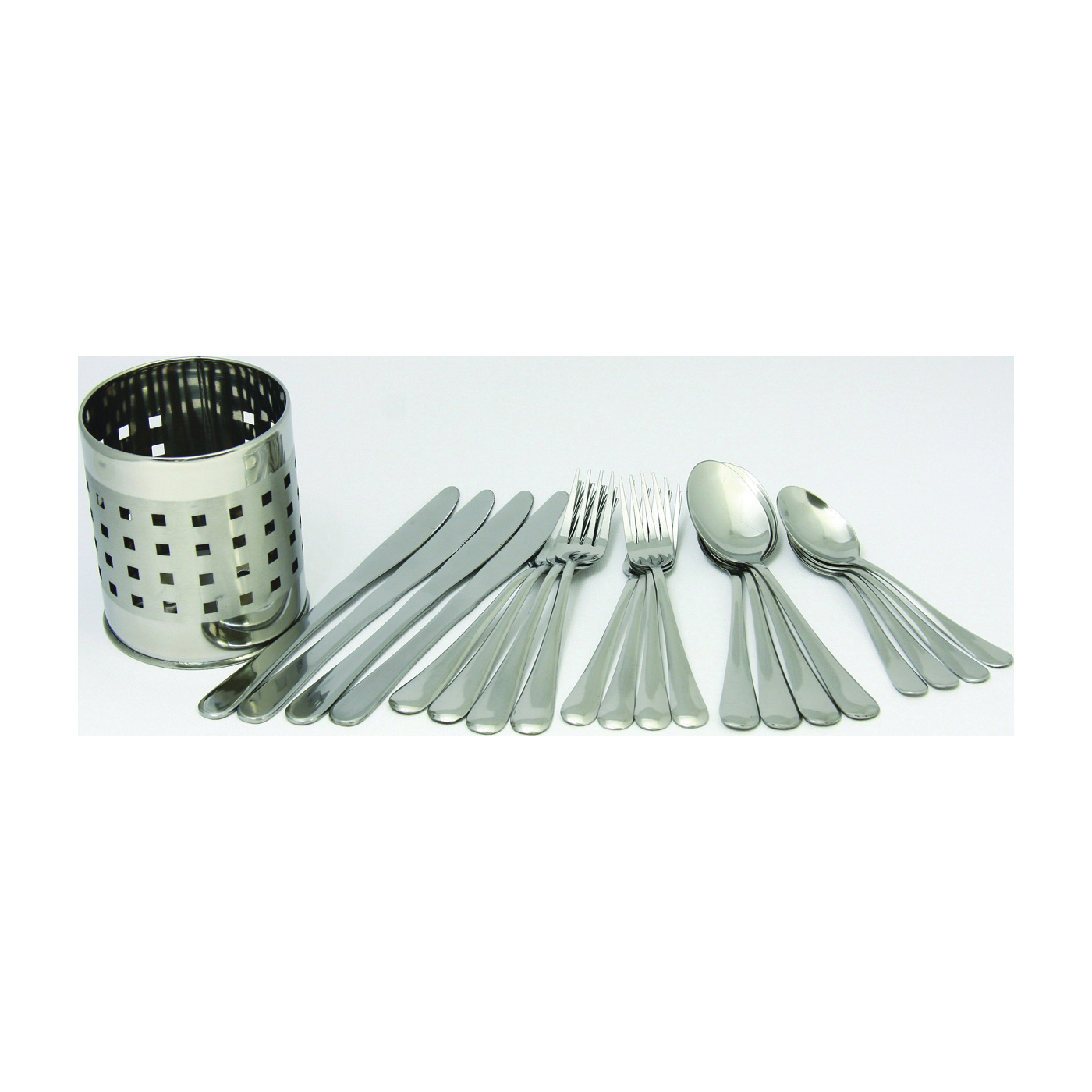 Picture of CHEF CRAFT 21710 Flatware Set, 20-Piece, Stainless Steel