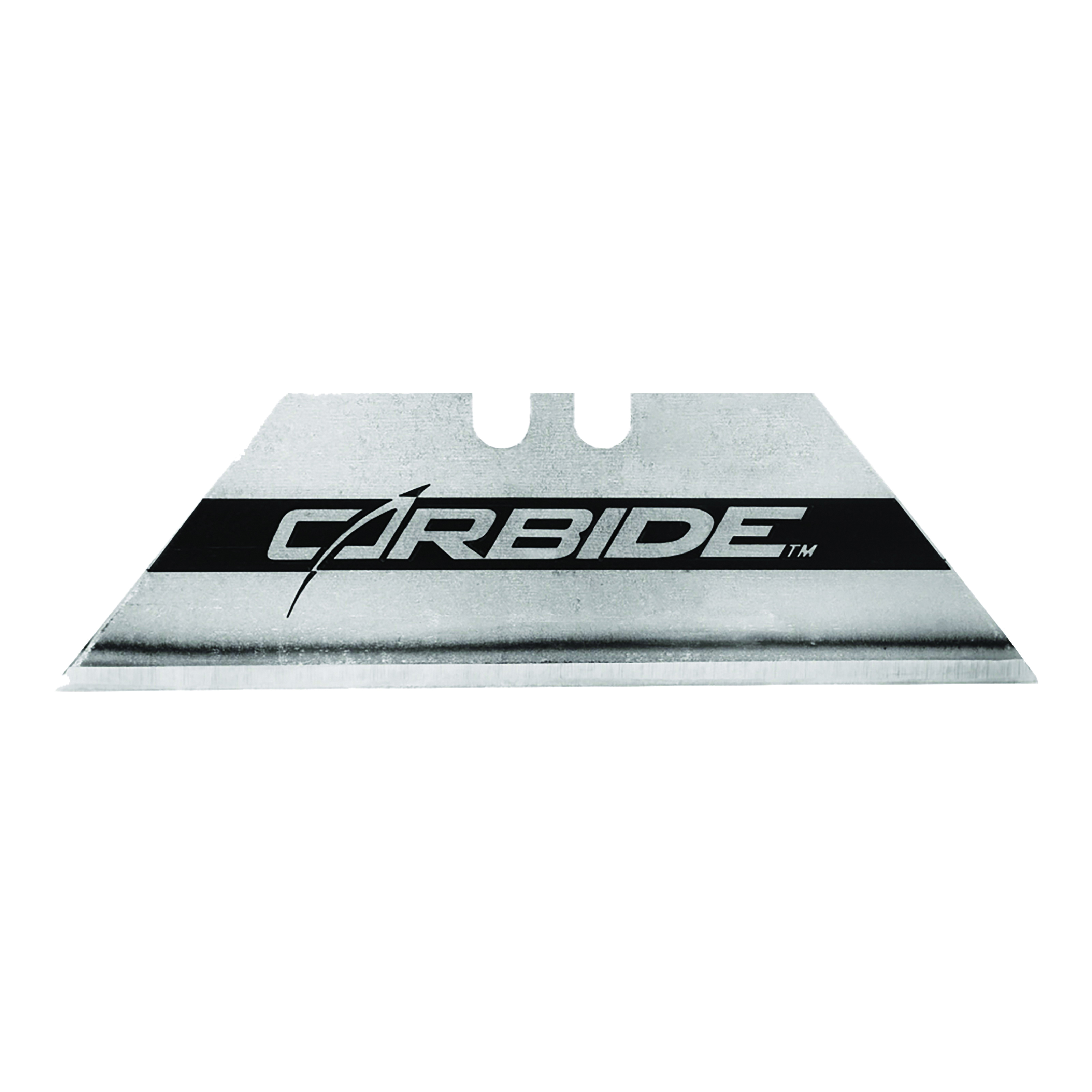 Picture of STANLEY 11-800L Utility Blade, 2-7/16 in L, Carbide Steel, 2 -Point, 50/PK, Pack
