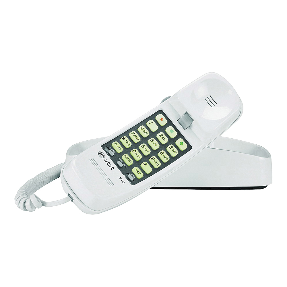 Picture of Vtech AT210 Corded Telephone, White