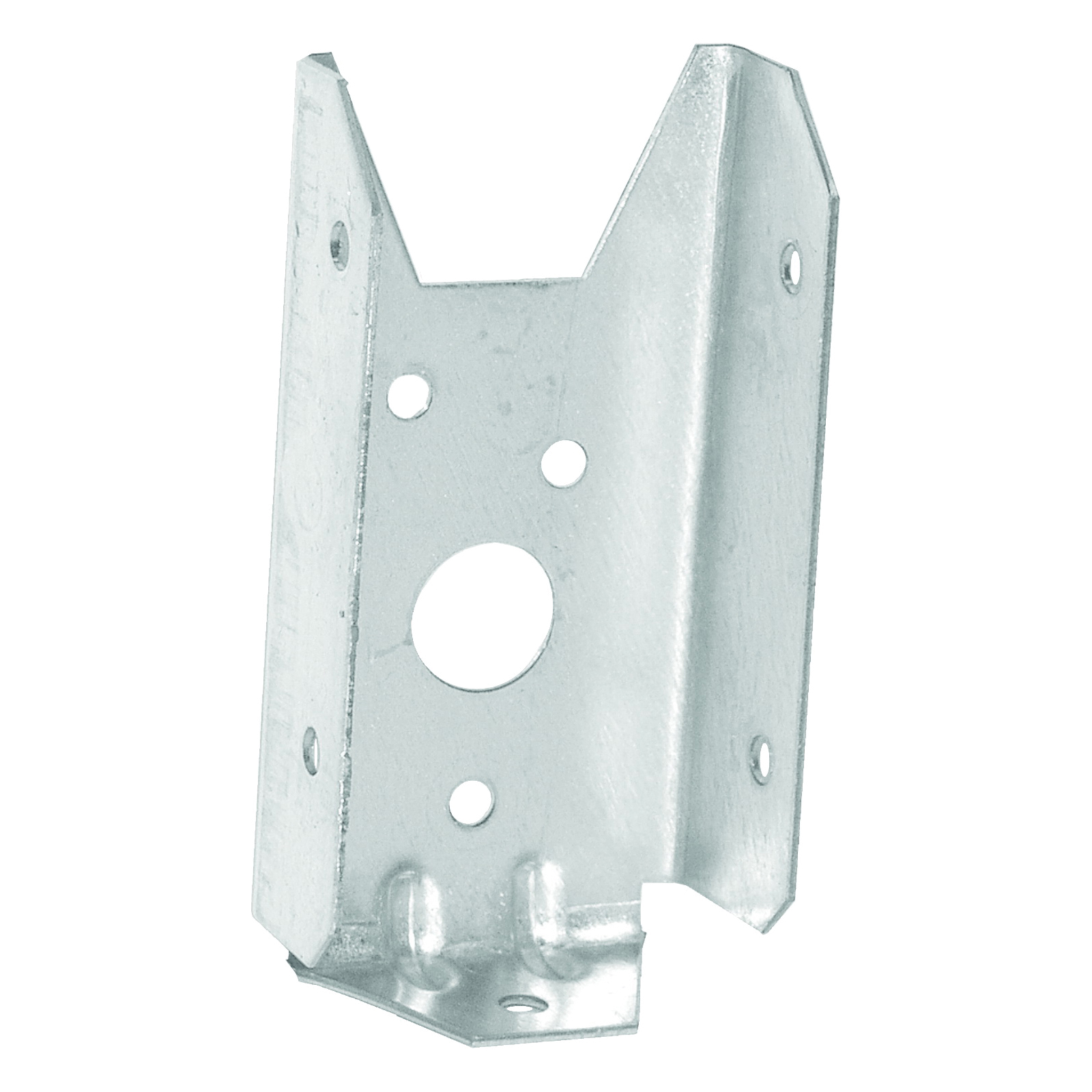 Picture of MiTek FB24-TZ Fence Bracket, 3/4 in L, 1-9/16 in W, 20 Thick Material, Steel, Zinc