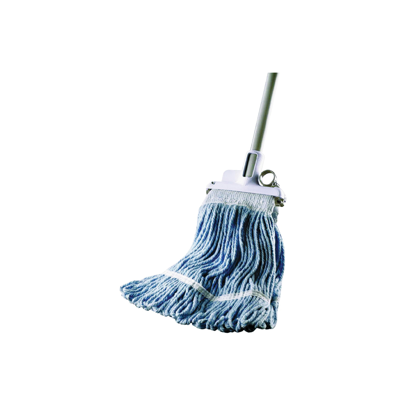 Picture of Quickie 023MBCAN Wet Mop, 48 in L, Cotton Mop Head, Steel Handle