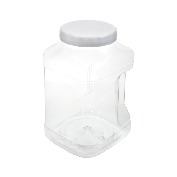 Picture of Arrow Plastic 739 Stackable Container, 128 oz Capacity, Clear, 5-1/2 in L, 6 in W, 9-1/2 in H