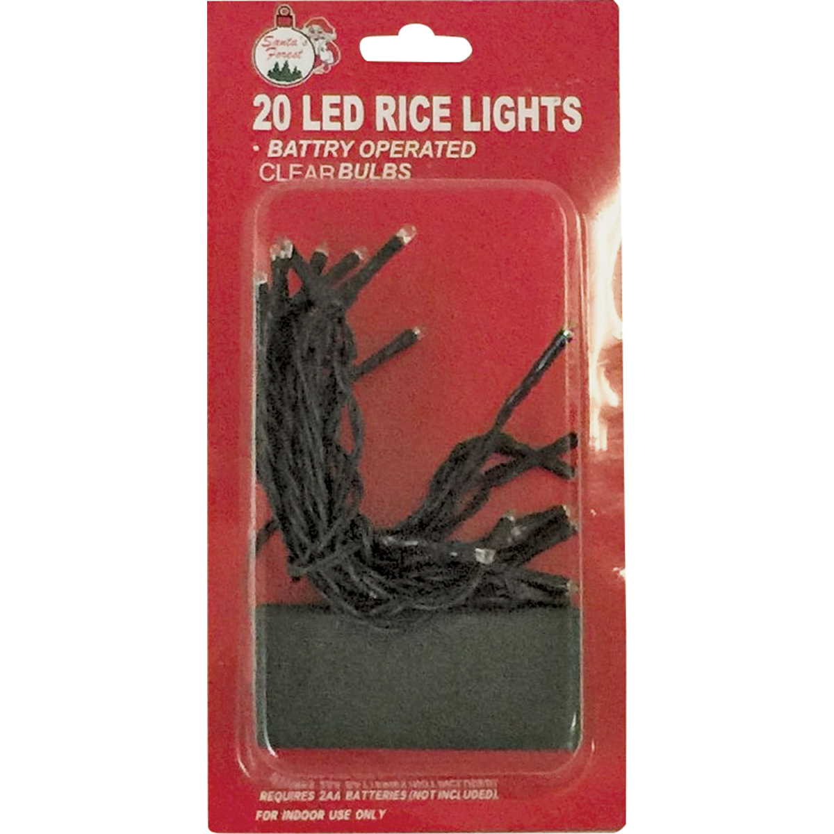 Picture of Santas Forest 03808 String Light, 20 -Lamp, LED Lamp