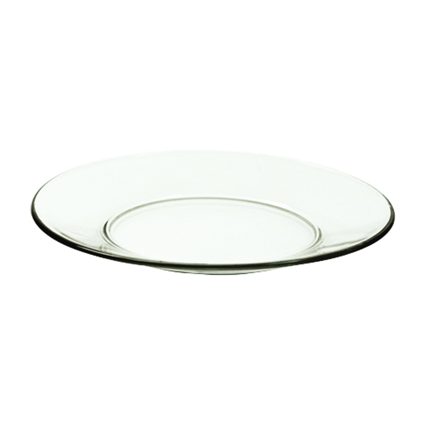 Picture of Oneida 842F Luncheon Plate, Glass, Clear, For: Dishwasher