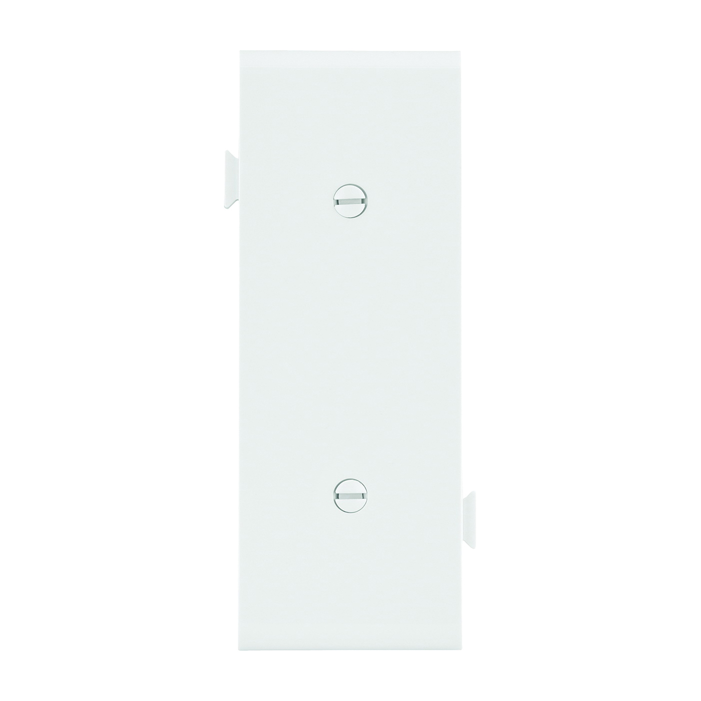 Picture of Eaton Cooper Wiring STC14W Wallplate, 1.9 in L, 4.84 in W, 0.23 in Thick, 1-Gang, Polycarbonate, White