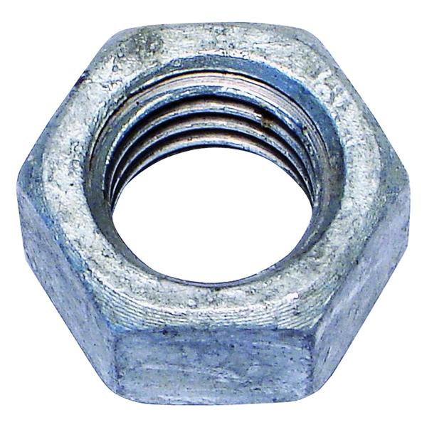 Picture of MIDWEST FASTENER 05618 Hex Nut, Coarse Thread, 1/2-13 in Thread, Galvanized