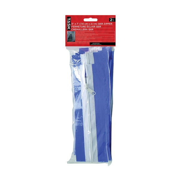 Picture of TASK QSR T74545 Zipper, 7 ft L, 3 in W