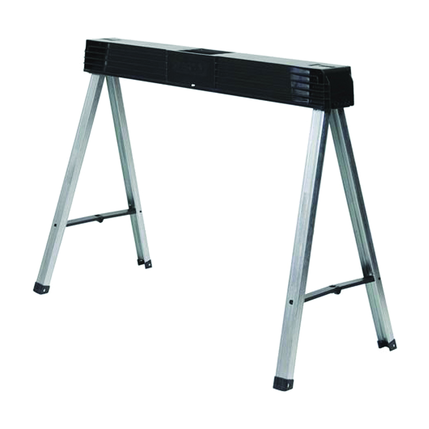 Picture of STANLEY FATMAX STST11151 Fold Up Sawhorse, 800 lb, 4 in W, 5 in H, 40 in D, Metal/Polypropylene, Gray