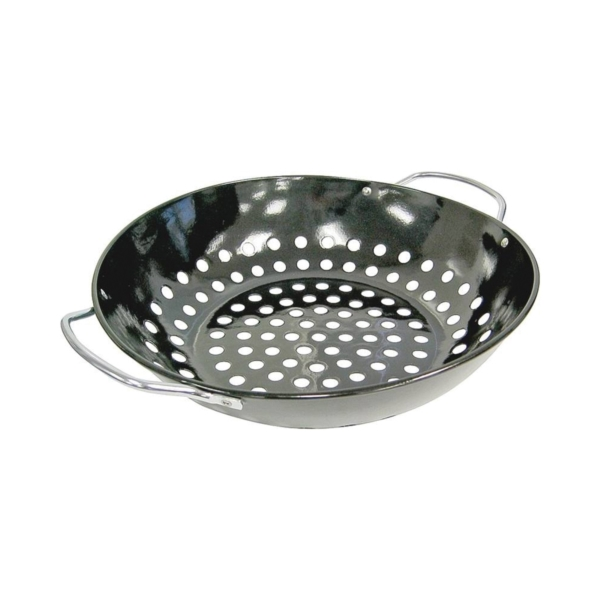 Picture of GrillPro 98130 Round Topper, Wok, Porcelain Enamel-Coated