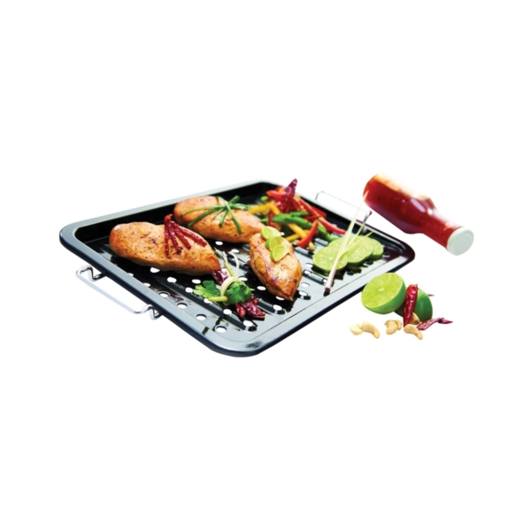 Picture of GrillPro 97122 Grill Topper, Porcelain Enamel-Coated