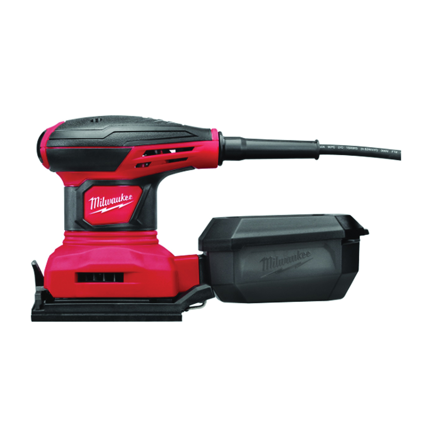 Picture of Milwaukee 6033-21 Palm Sander, 120 V, 3 A, 4-1/4 x 4 in Pad, 14000 opm No Load