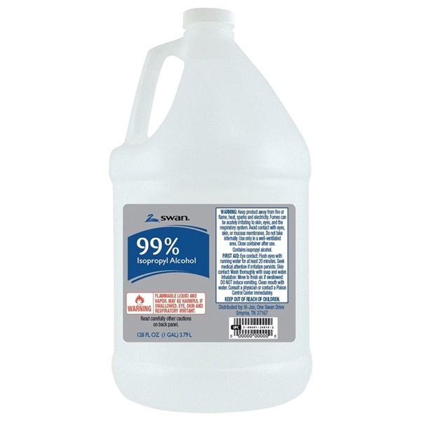 Picture of SWAN 1000040547 Isopropyl Rubbing Alcohol, 1 gal Package, Liquid, Alcohol