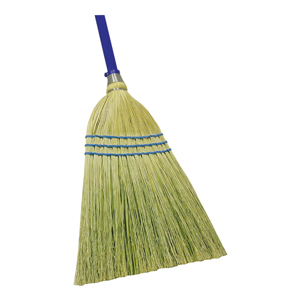 Picture of Quickie 900-6 Outdoor Broom, 12 in Sweep Face, Corn Fiber Bristle, Steel Handle