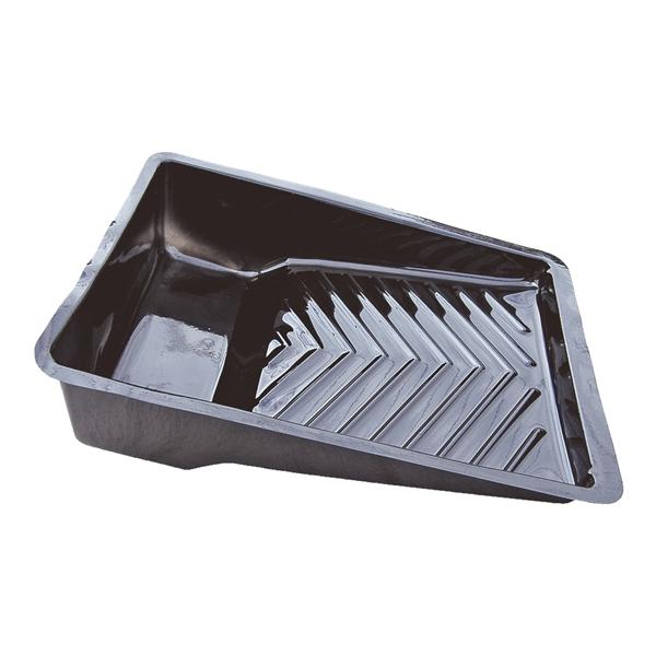 Picture of ENCORE Plastics EcoSmart 75 Eco Paint Tray Liner, Plastic, Black
