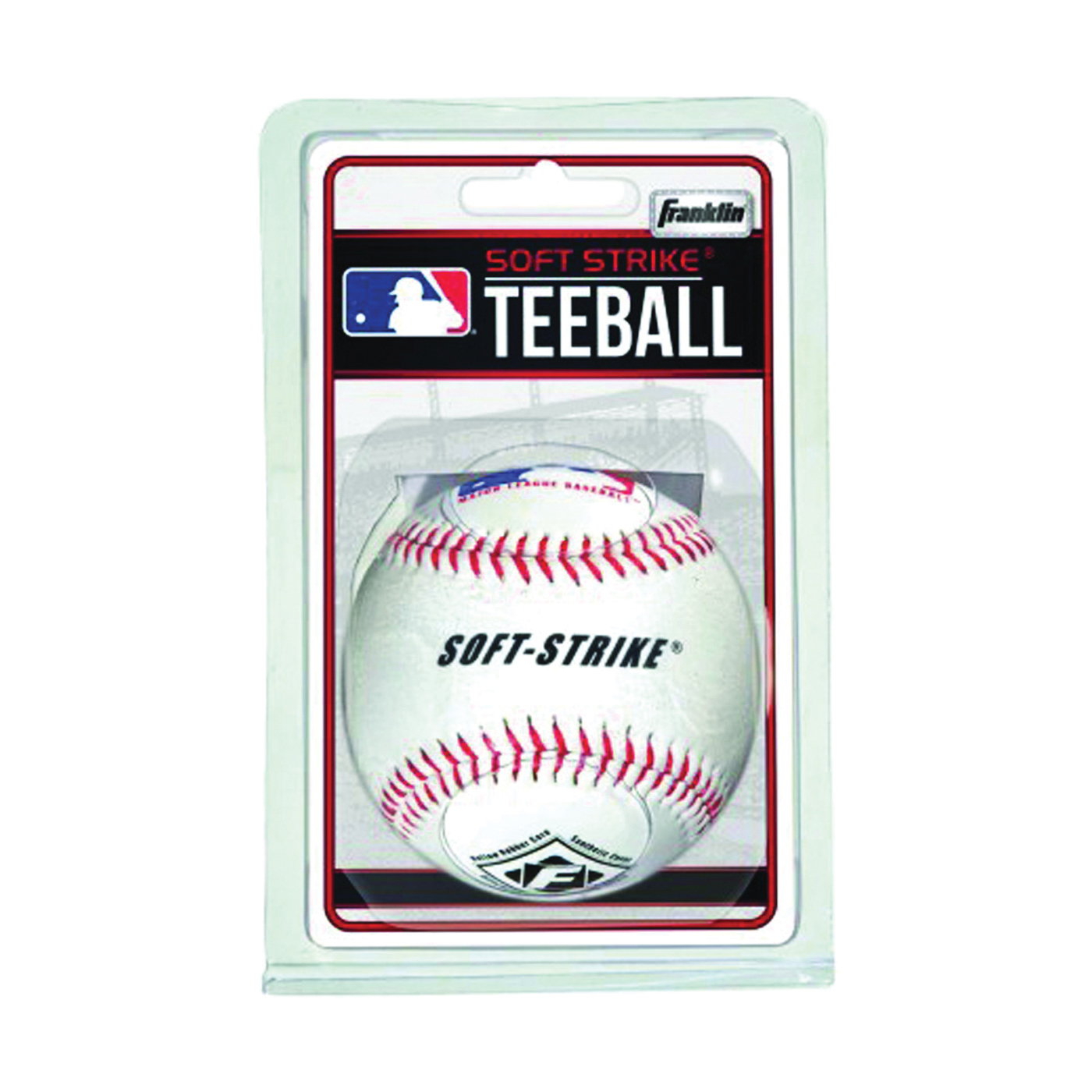 Picture of Franklin Sports 1920 Tee Ball, Rubber, 12, Blister
