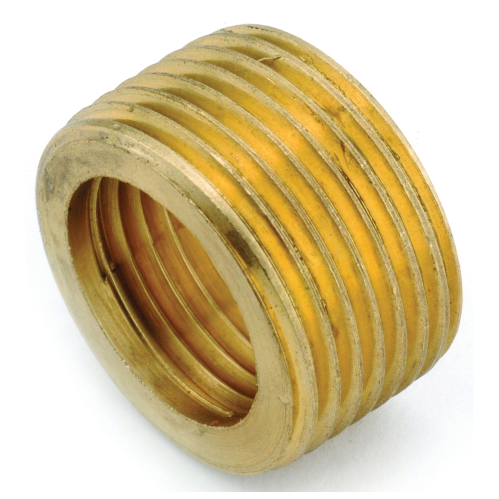 Picture of Anderson Metals 736140-0806 Reducing Face Bushing, 1/2 x 3/8 in, Male x Female Thread