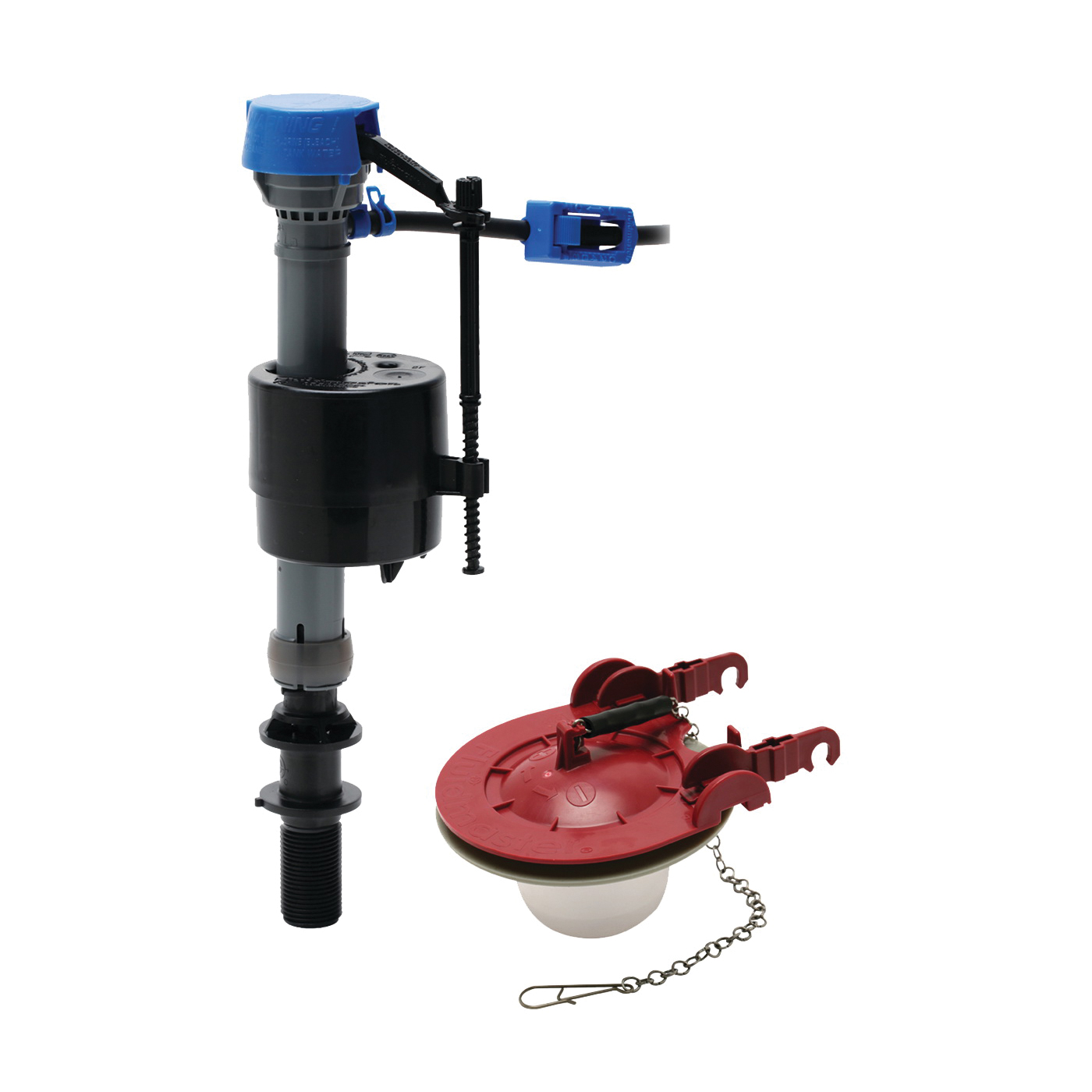 Picture of FLUIDMASTER PerforMAX 400CAR3P5 Toilet Fill Valve and Flapper Kit, Plastic Body, Anti-Siphon: Yes