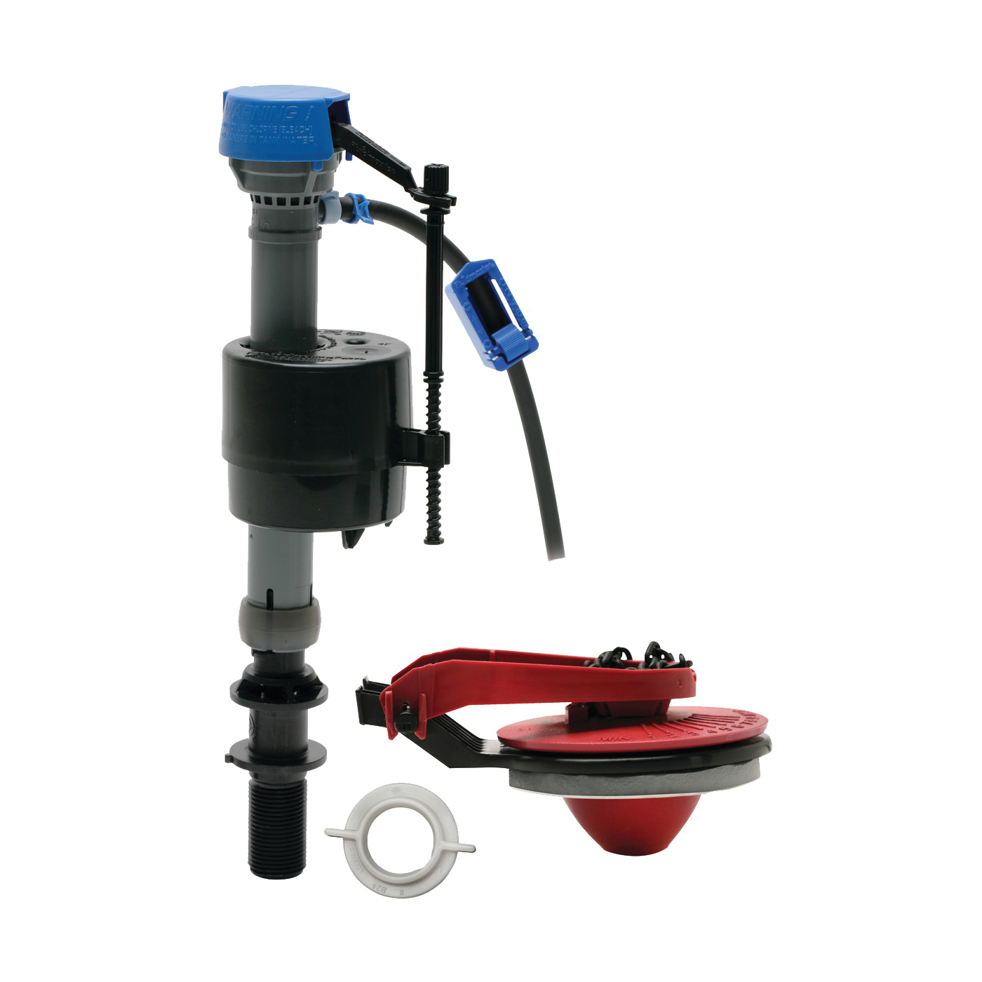 Picture of FLUIDMASTER 400CARP Toilet Tank Repair Kit, Plastic, For: 2 in Toilets, 1.28 to 1.6 gpf Toilets