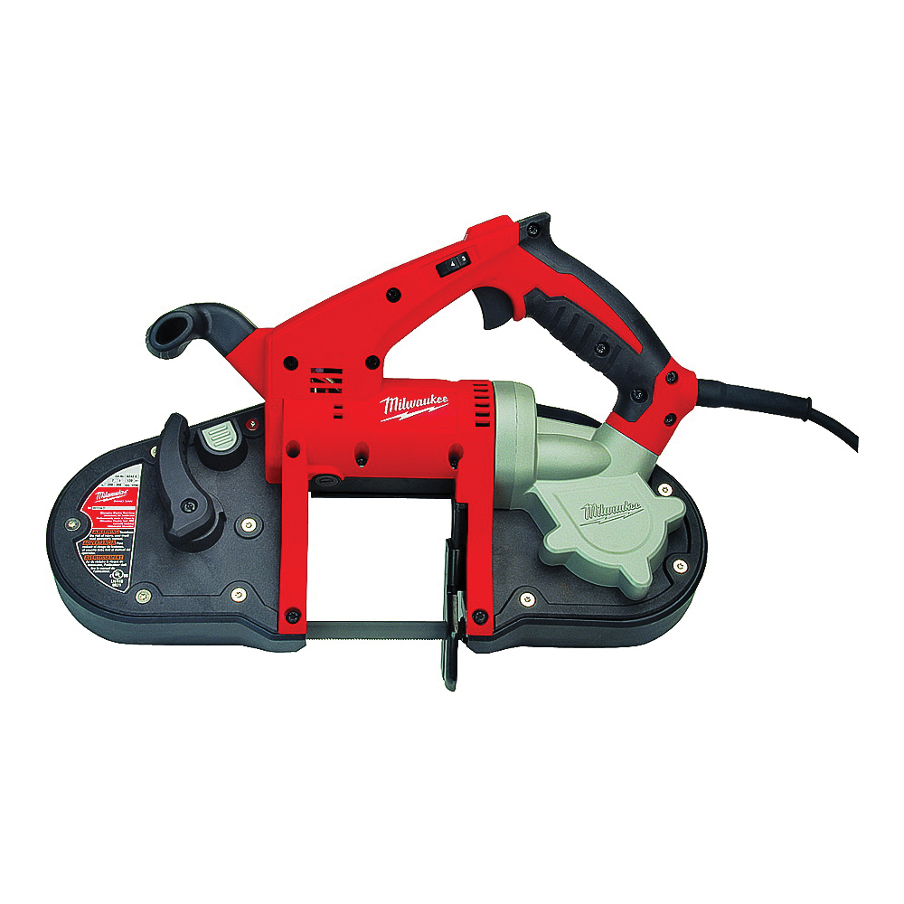 Picture of Milwaukee 6242-6 Band Saw, 3-1/4 x 3-1/4 in Rectangular, 3-1/4 in Round Cutting Capacity, 120 V