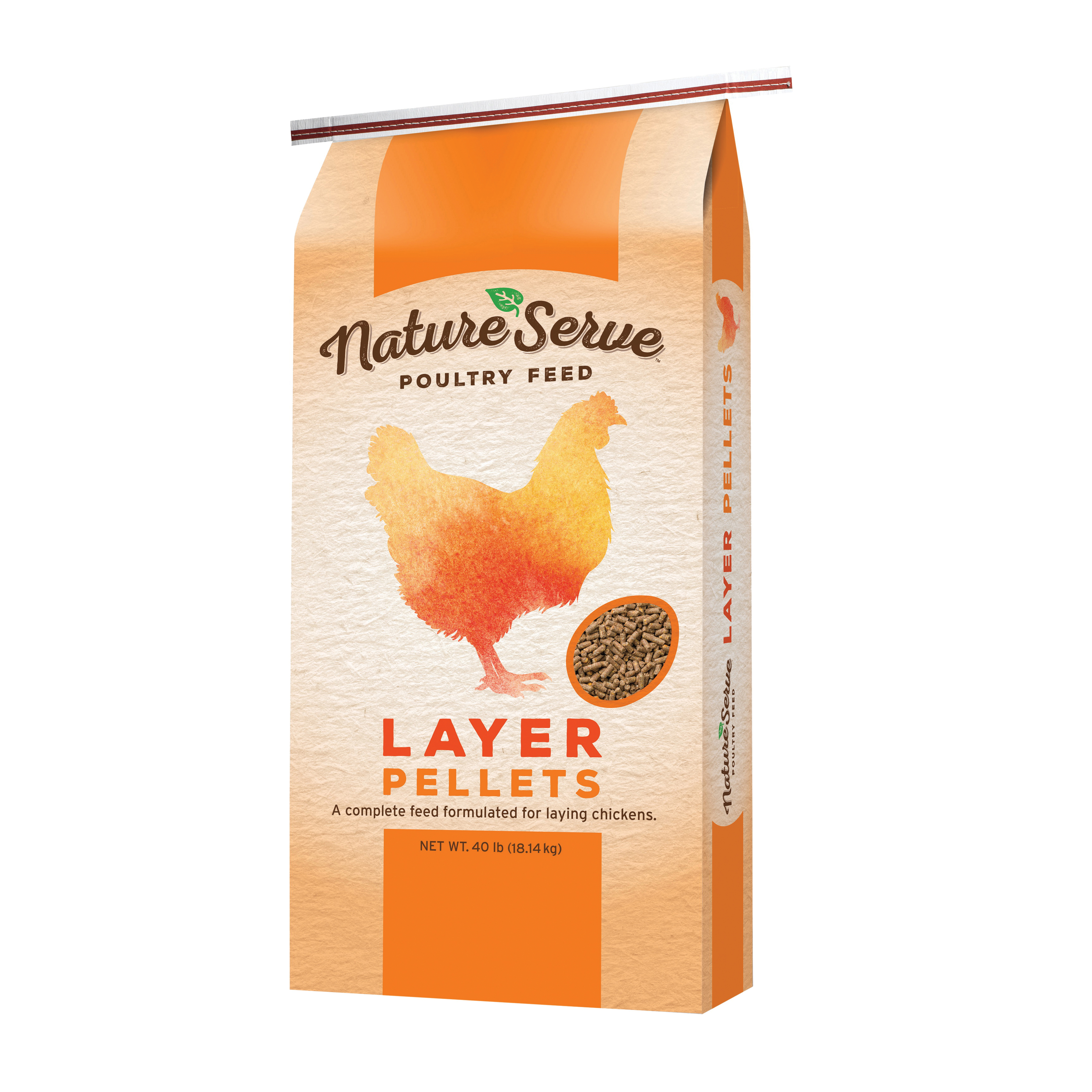 Picture of NatureServe 104040 Layer Pellet, Pellet, 40 lb Package