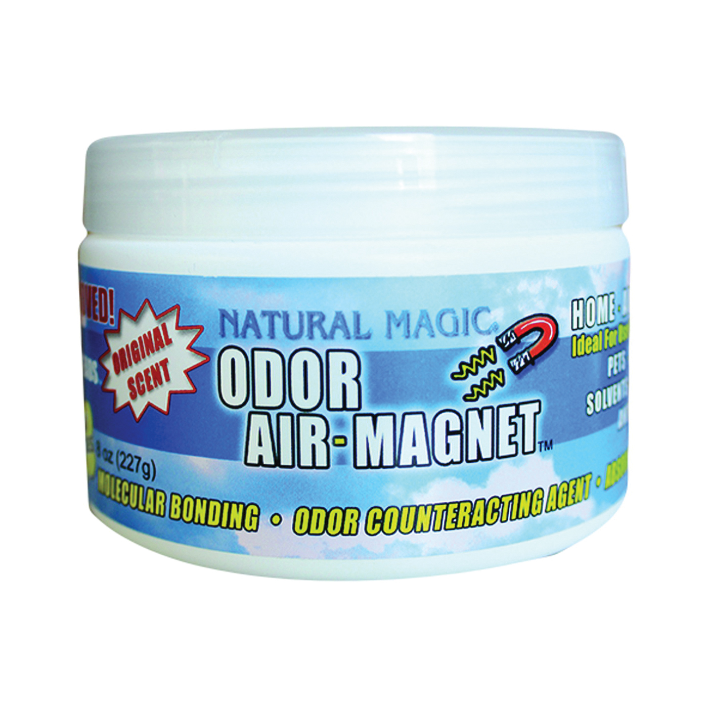 Picture of Gonzo Natural Magic 4033D Odor Air Magnet, 8 oz Package, Fresh, 15 x 15 ft Coverage Area