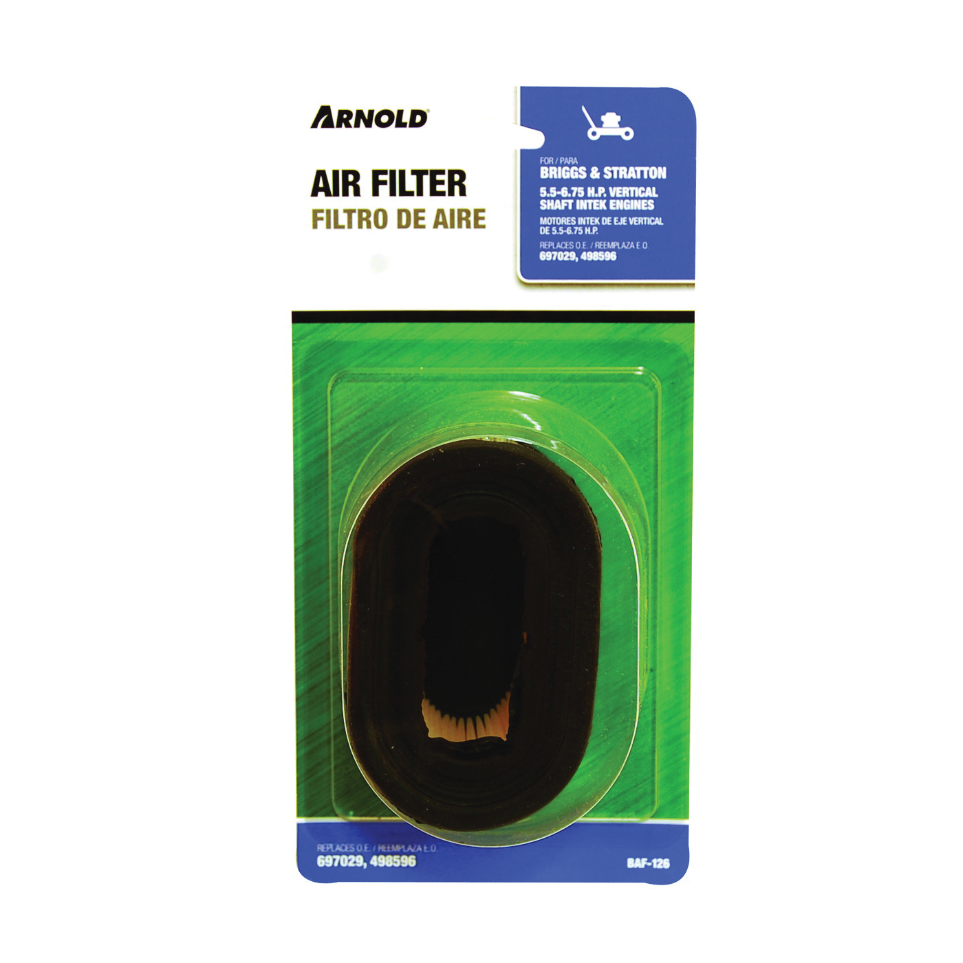 Picture of ARNOLD BAF-126 Replacement Air Filter, Paper Filter Media