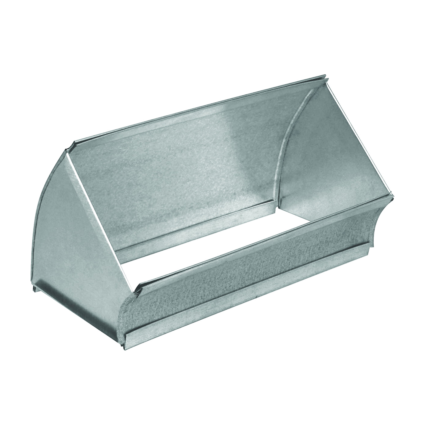 Picture of Imperial GV0048 Flat Shortway Elbow, 30 Gauge, Galvanized Steel