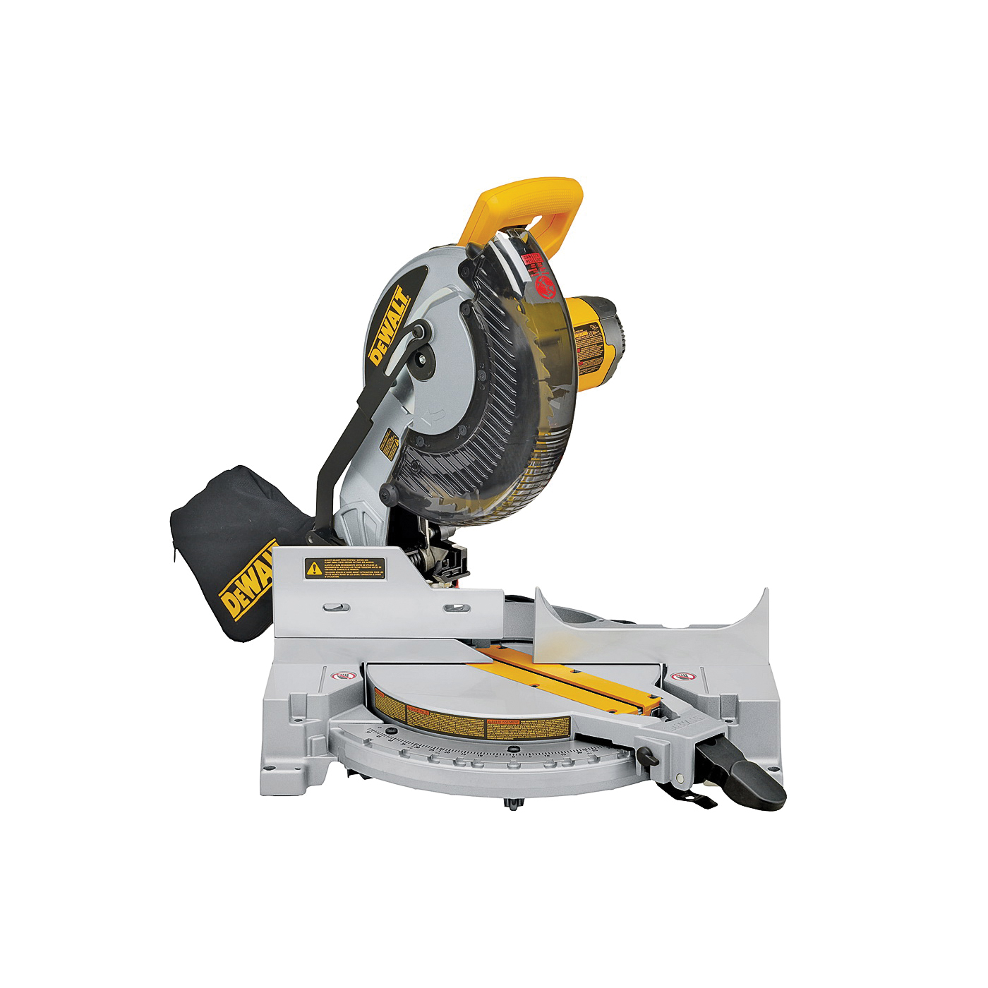 Picture of DeWALT DW713 Miter Saw, 120 V, 15 A, 10 in Dia Blade, 2 x 6 in 45 deg, 4 x 4 in at 90 deg Cutting Capacity