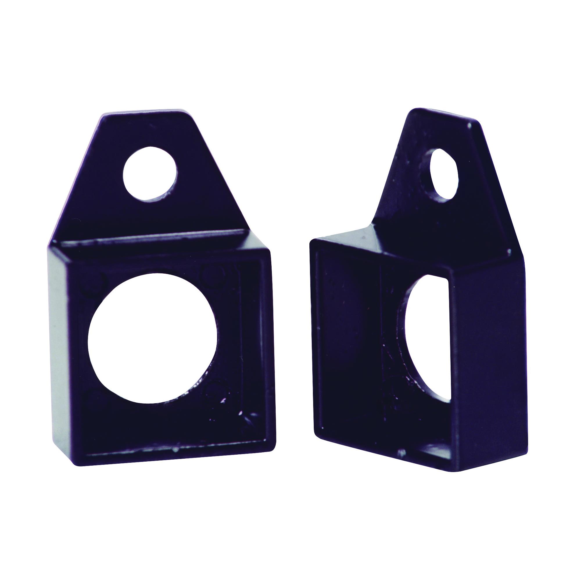 Picture of Village Ironsmith V500 Column Socket, Steel, Black