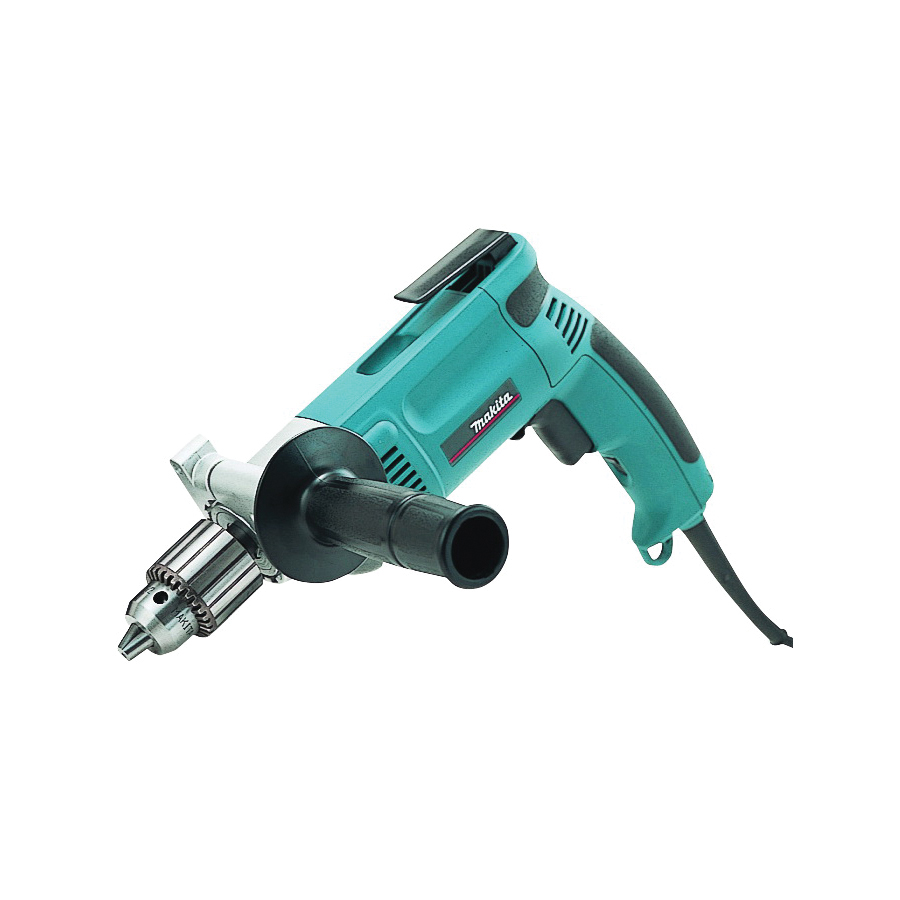 Picture of Makita DP4000 Electric Drill, 120 V, 1/2 in Steel, 1-1/2 in Wood Drilling, 1/2 in Chuck, Keyed Chuck