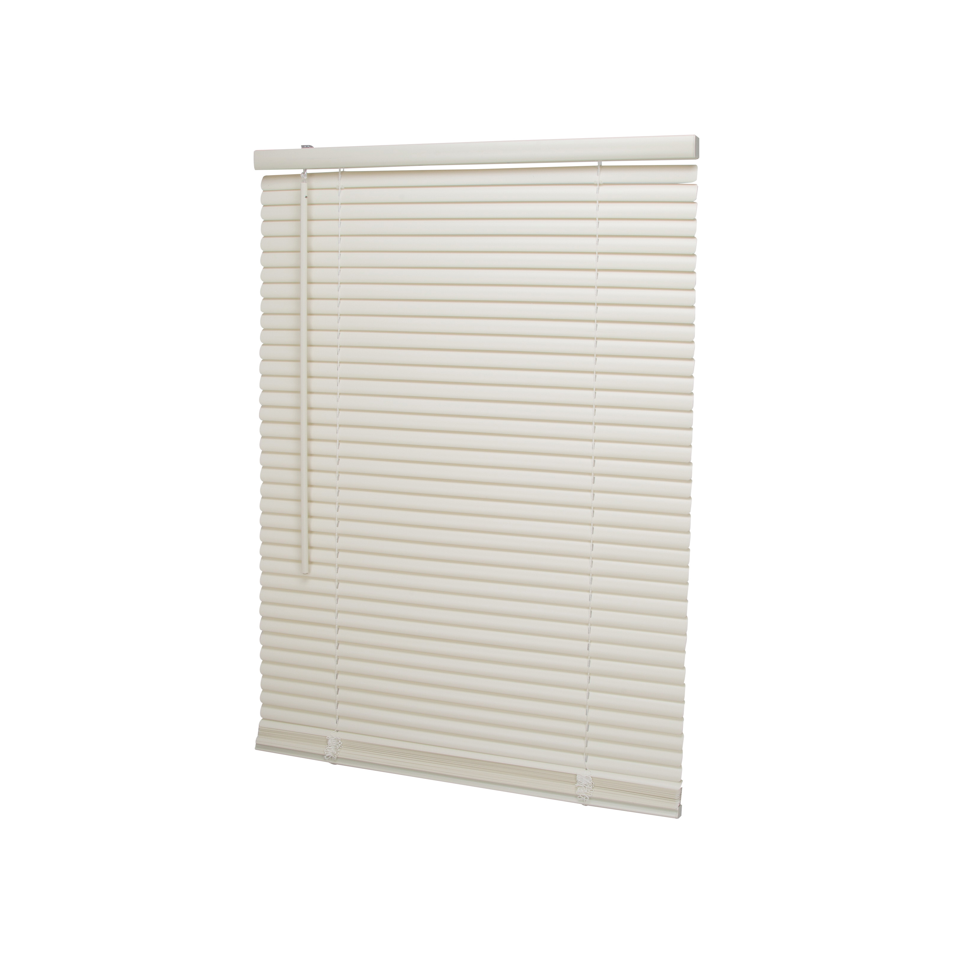 Picture of Simple Spaces PVCMB-0AA Cordless Mini Blind, 42 in L, 23 in W, Vinyl, Alabaster