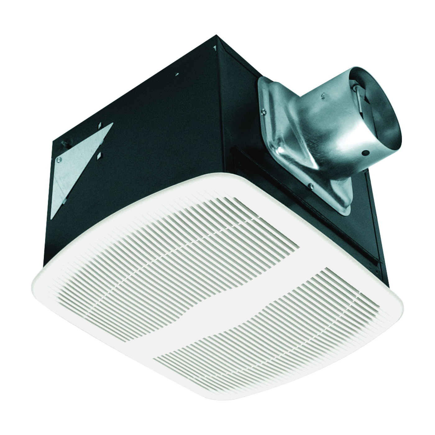 Picture of Air King AKLS Series AK110LS Exhaust Fan, 9-3/8 in L, 10-7/8 in W, 0.3 A, 115/120 V, 100 cfm Air, Metal