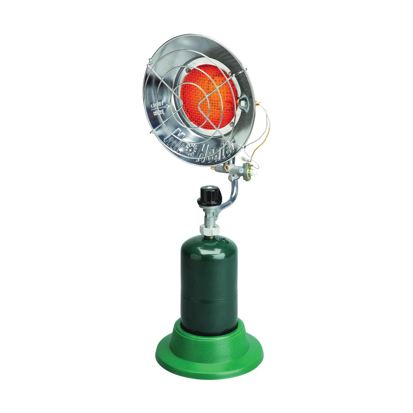 Picture of Mr. Heater F242200 Single Tank Top Heater, 8-1/4 in W, 10,000 to 15,000 Btu Heating, Propane, Metal
