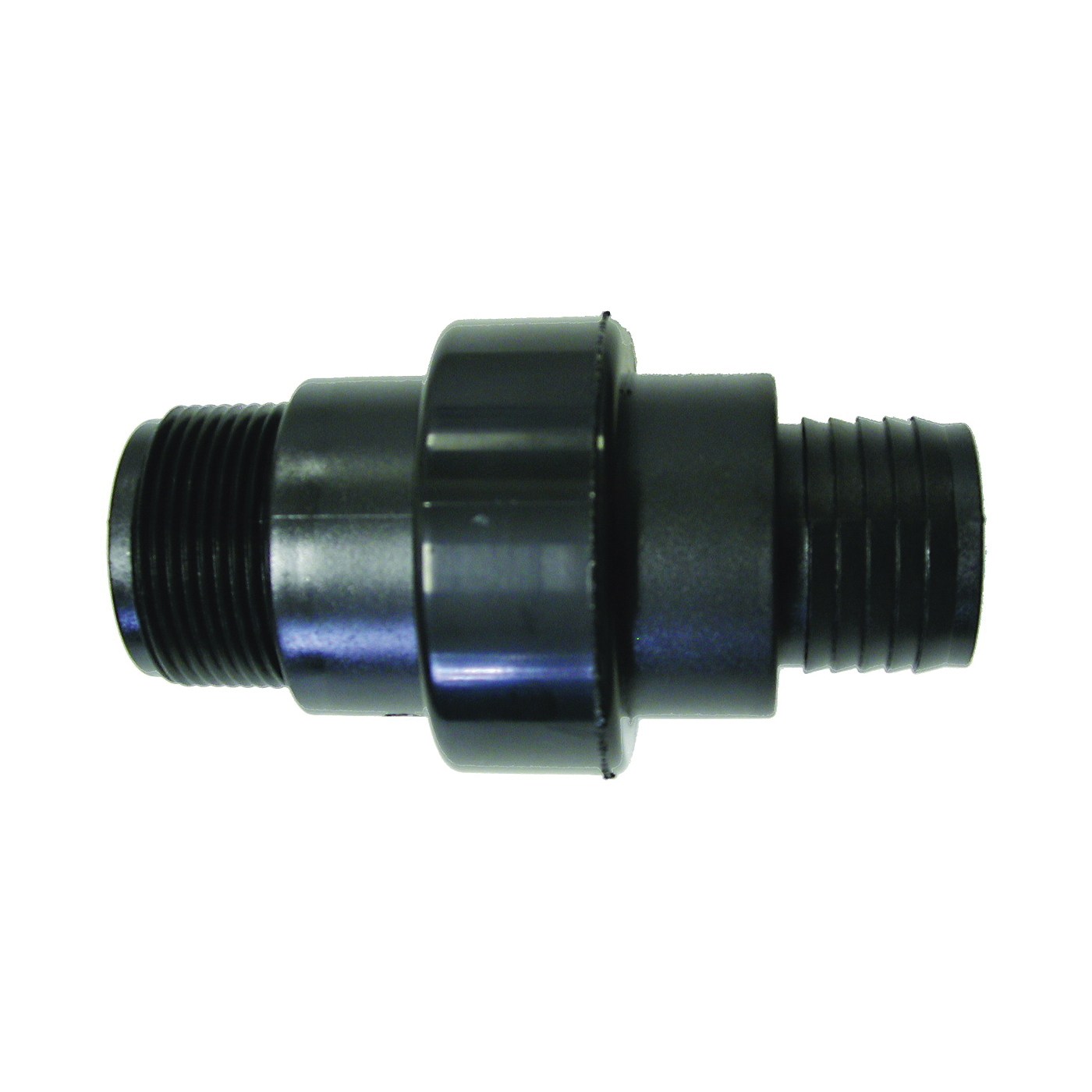Picture of SUPERIOR PUMP 99509/SC150B Check Valve, 1-1/2 x 1-1/4 in, MPT x Barb, ABS Body