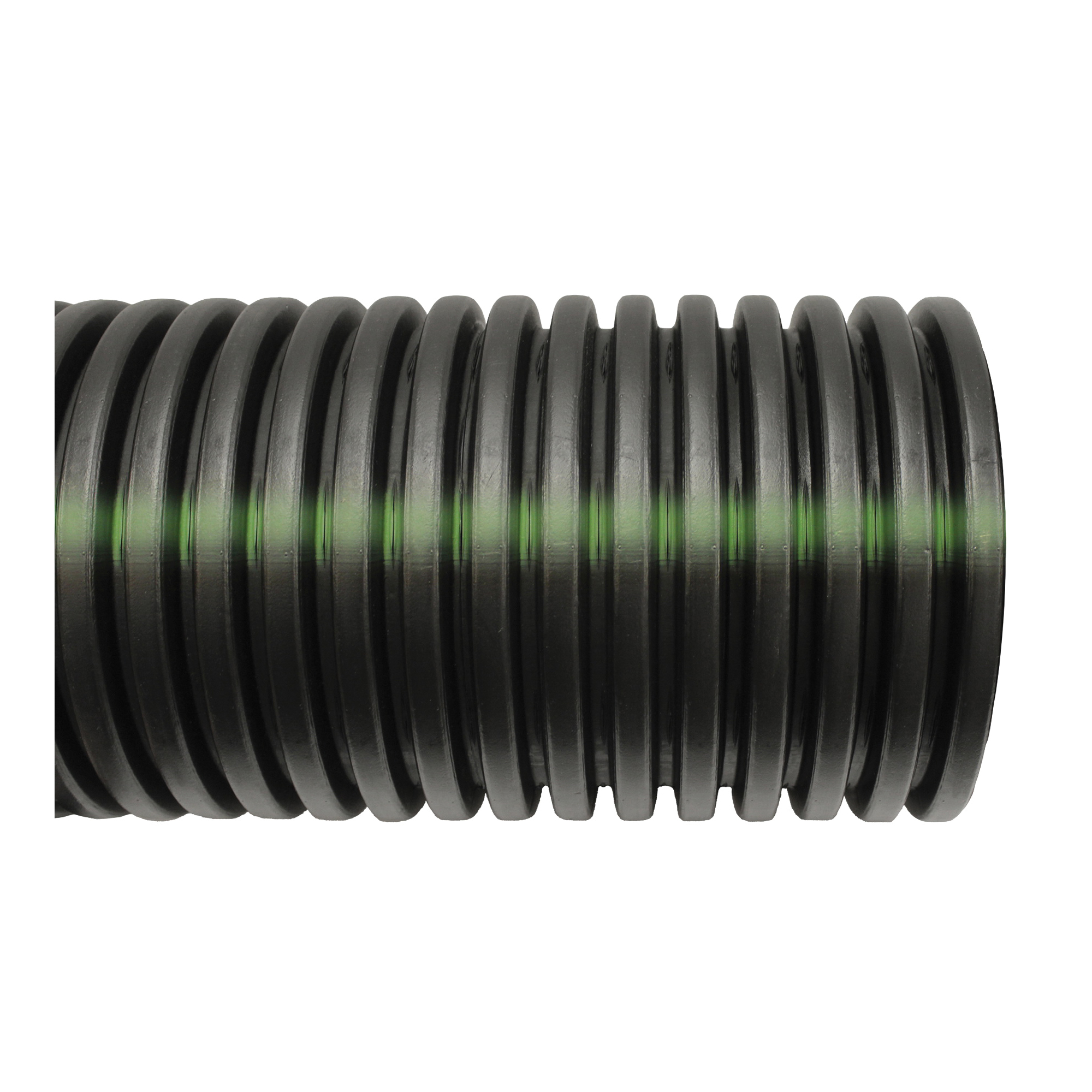 Picture of HANCOR 03040010 Single Wall Pipe, HDPE, 10 ft L
