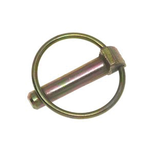 Picture of SpeeCo S070919YDU Lynch Pin, 3/16 in Dia Pin, 1-5/8 in OAL, Steel, Yellow Zinc Dichromate
