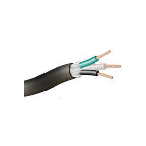Picture of CCI 55039707 Electrical Wire, 12 AWG Wire, Copper Conductor, TPE Insulation, Seoprene/TPE Sheath, Black Sheath
