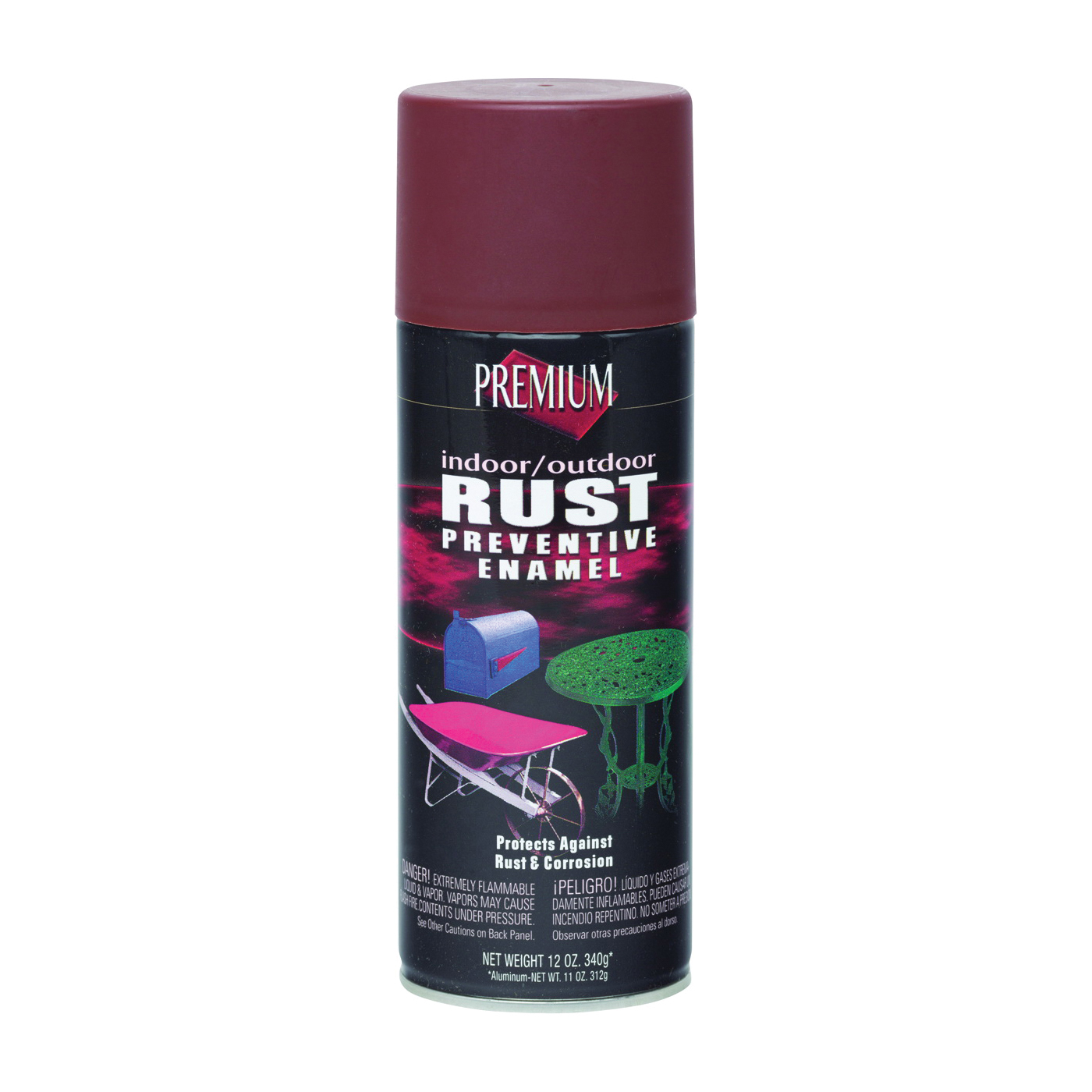 Picture of RUST-OLEUM RP1016 Rust-Preventative Primer, Red Oxide, Matte, 12 oz