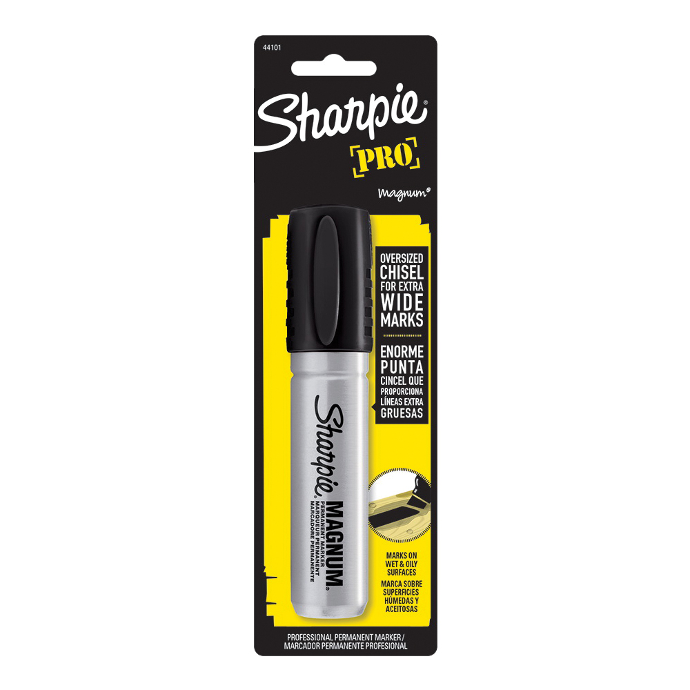 Picture of Sharpie 44101 Permanent Marker, Extra-Fine, Fine Lead/Tip, Black Lead/Tip